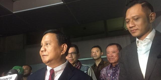 Pilih AHY, Prabowo Hanya Akan Ikuti Alur Intelejen