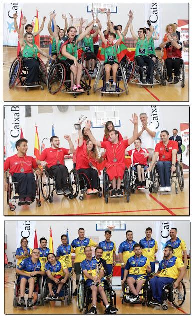 Campeonato España Baloncesto Sillas Ruedas Aranjuez
