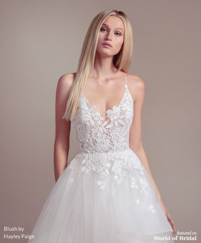 ca14a0d21e48 Blush by Hayley Paige Spring 2019 Wedding Dresses - World of Bridal