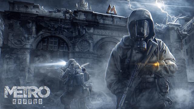 """""""Metro Exodus"""" Game hành động phiêu lưu vũ trụ 2019"""