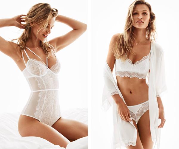 lencería de novia H&M primavera verano 2016 catálogo