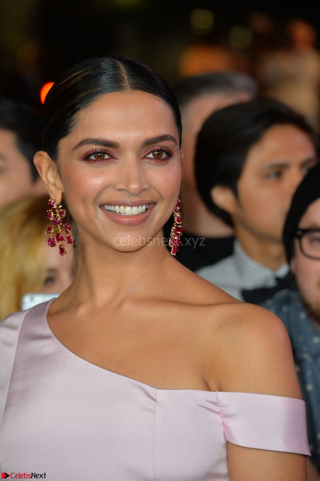 Deepika Padukone Smiling Beauty January 2018 CelebsNext Exclusive Galleries