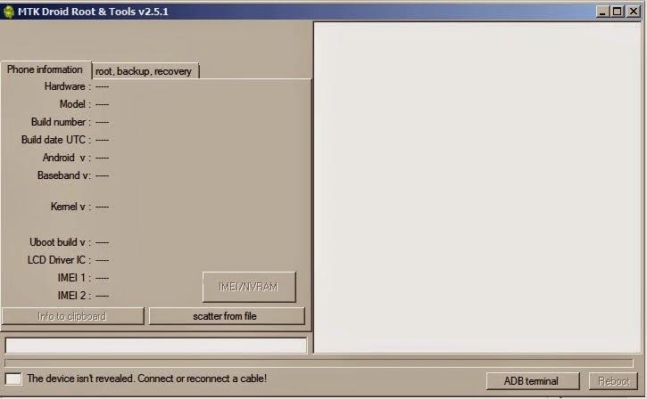 mtkdroidtools screenshot 1