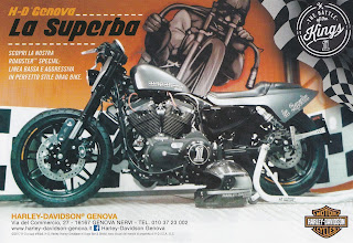 battle of the kings 2017 harley davidson genova adversiting
