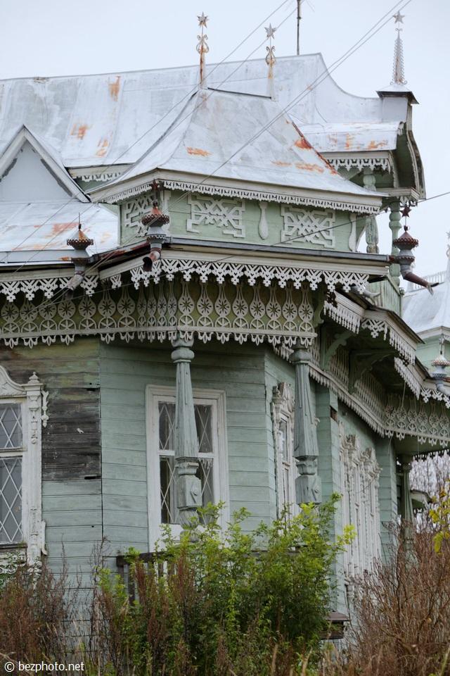 деревянный модерн ярославская область