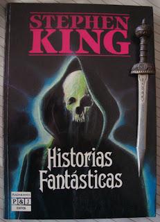 Portada del libro Historias fantásticas, de Stephen King