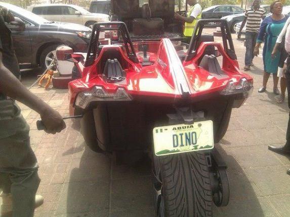 Senator Dino Melaye takes a ride in his Luxury Sports Ride (Photos)  6