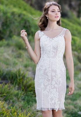 modelos de Vestidos de Novia Cortos
