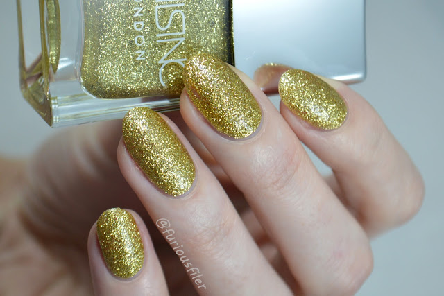 nails inc chelsea embankment swatch glitter meebox
