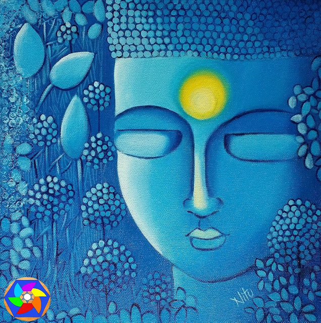 """""""What you think, you become. What you feel, you attract. What you image, you create"""