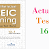 Listening Comprehensive TOEIC Training - Actual Test 16