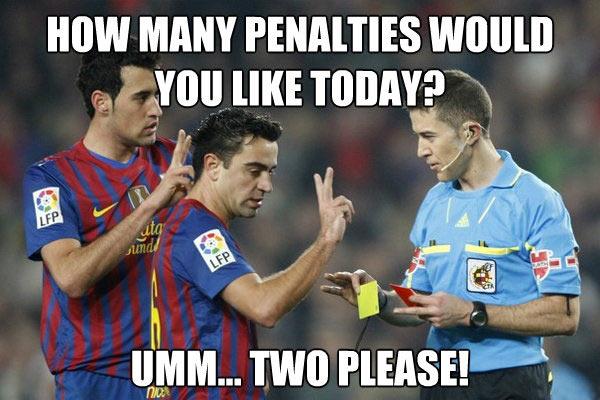Barcelona penalties