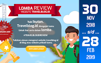 Kompetisi Blog - Travel Blog Indonesia Berhadiah Samsung Galaxy A6+, Xiaomi Redmi Note 3 dan Eiger Duffle Bag (28 Februari 2019)