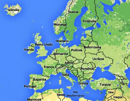 mapa alemanha Mapa Alemanha e Quando Visitar mapa alemanha