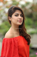 Rhea Chakraborty in Red Crop Top and Denim Shorts Spicy Pics ~  Exclusive 145.JPG