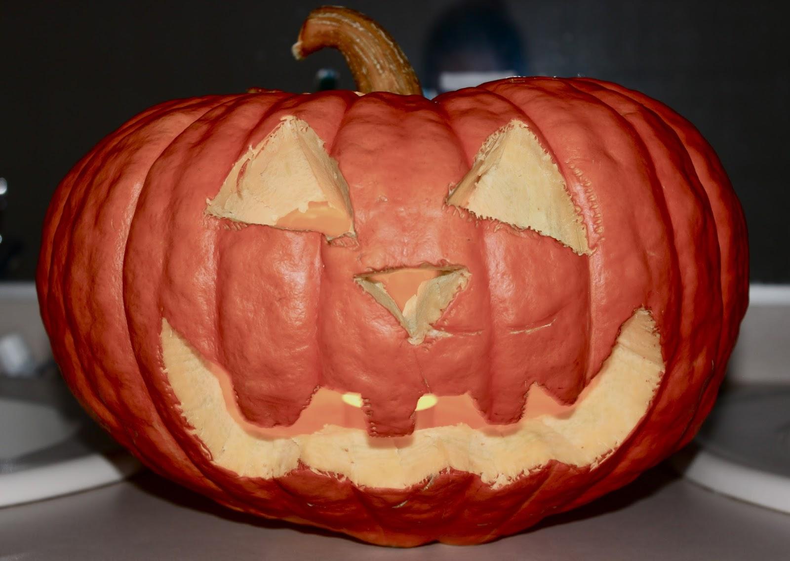 Uithollen Pompoen Halloween.Day Zero Project Pompoen Uithollen Hostesarah