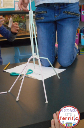 STEM Challenge: Build a tower using only a dozen of each material!