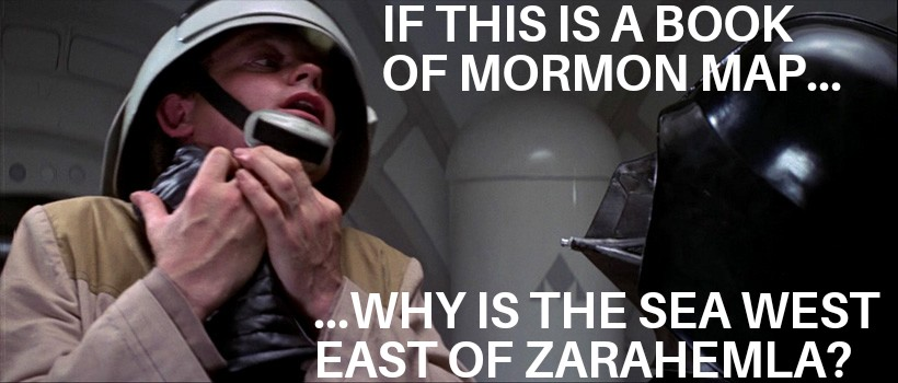 Darth Vader choking Book of Mormon Heartland