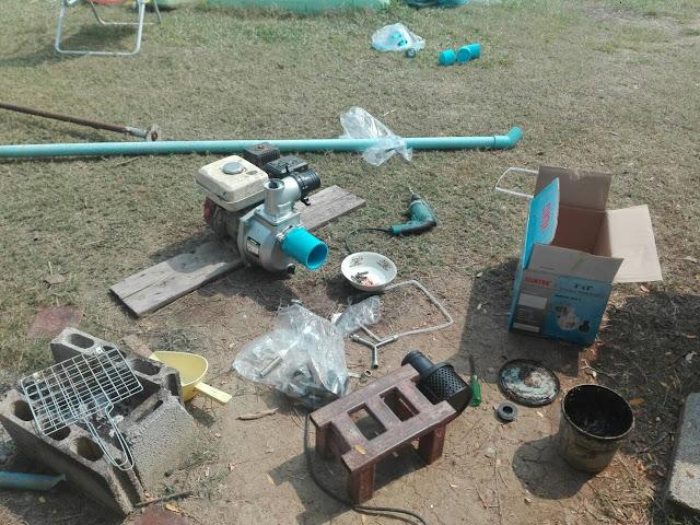 หัวปั๊มน้ำมีเนี่ยม รุ่นชนเครื่องยนต์/มอเตอร์ไฟฟ้า 2 นิ้ว