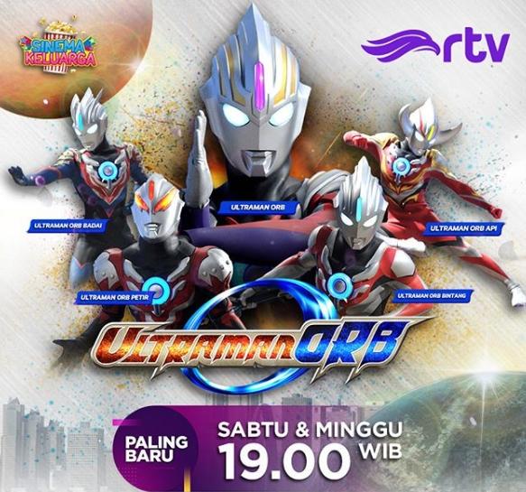 Gambar Mewarnai Ultraman Orb Bintang Wwwimagenesmicom