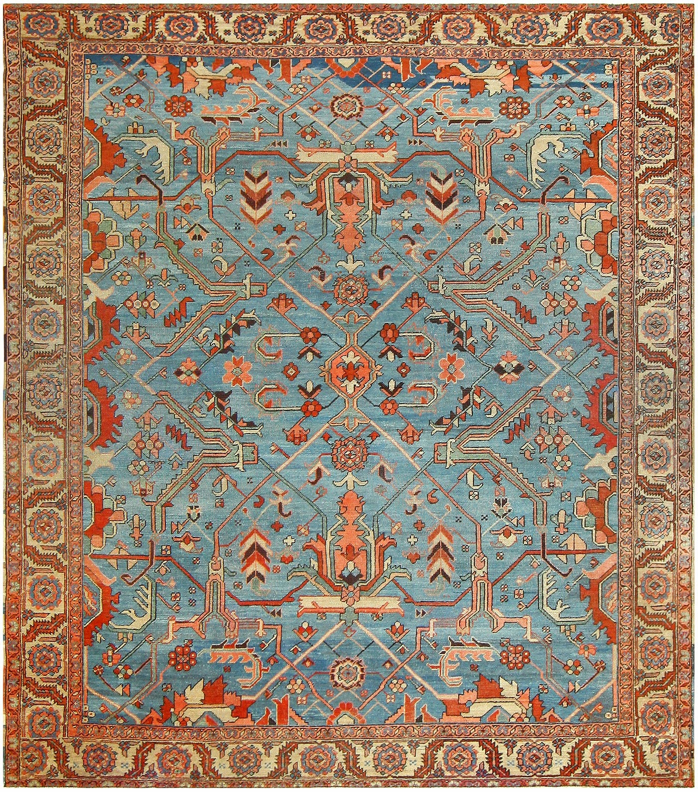 Antique Oriental Rugs Timeless And Chic Persian Heriz In 2017 Spruce Up Your Home With Serapi
