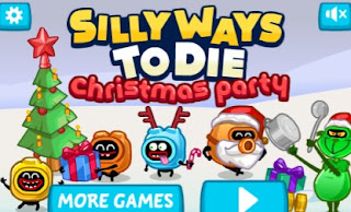 Silly ways to die Christmas Party Puzzle Game