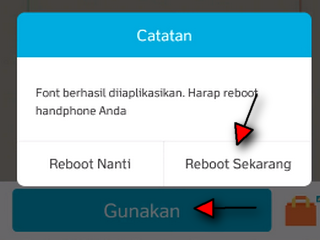 cara menginstal font ttf di android