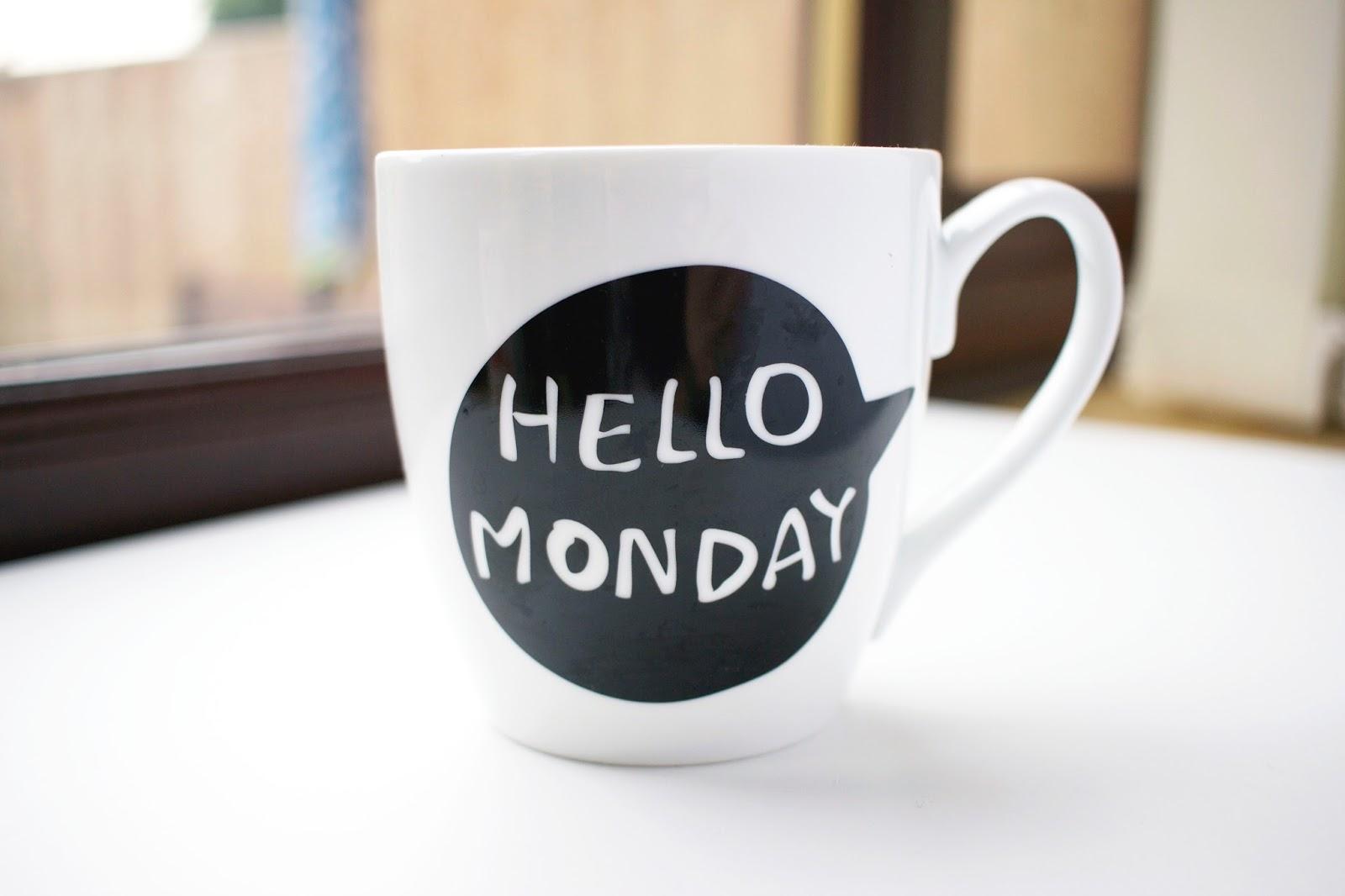 Hello Monday, Summer Goals, Summer Holiday, Lifestyle blog, Goals, Positivity, Life, Monday, Monday mug, Hello Monday Mug, Primark,
