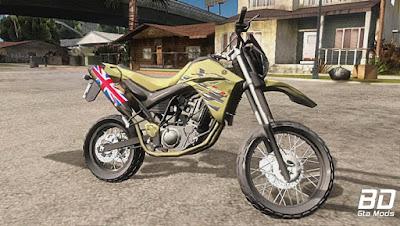 Mod , Moto, Yamaha XT660R Edit para GTA San Andreas , Meiota, GTA SA