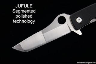 Unique blade grinds