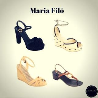 Sapatos e Sandálias da Maria Filó - Marcas de Sapatos Femininos