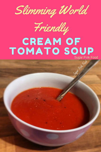 slimming world friendly cream of tomato soup recipe