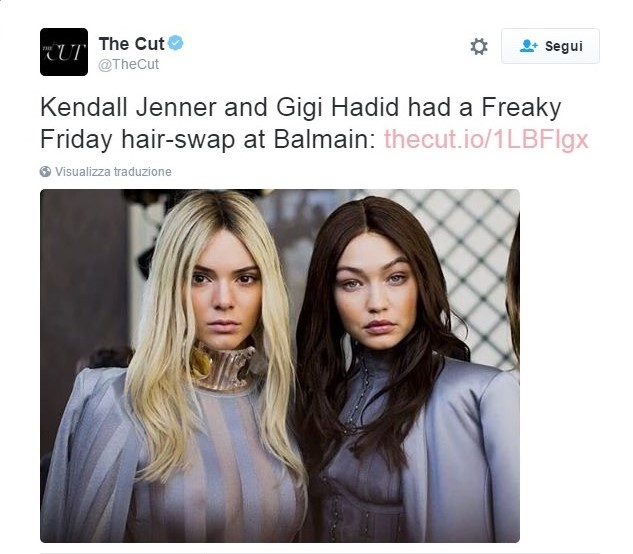 kendall-jenner-gigi-hadid-hair-color-swap-balmain-2016