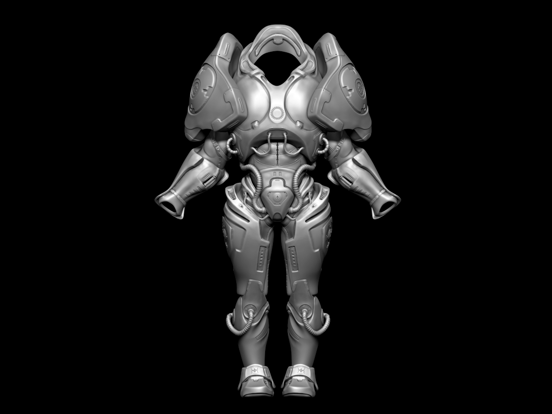 Designs To Suit Your Space: Matthew Dale's Blog: Maya/Zbrush