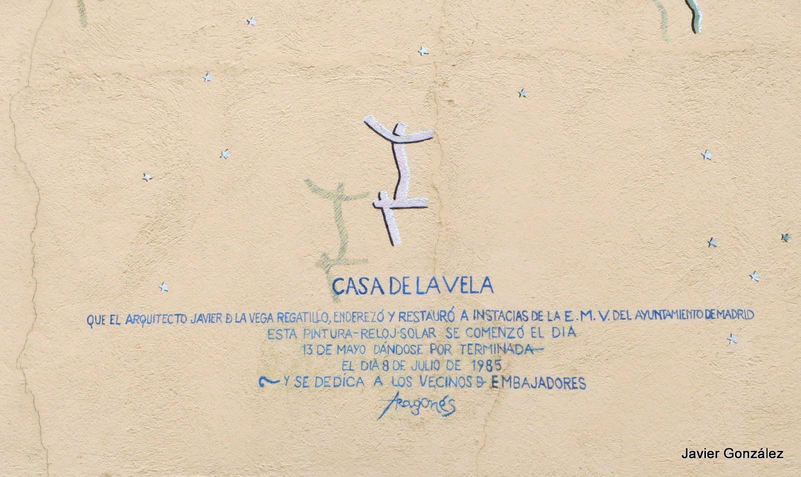 Reloj de Sol. Lavapiés. Madrid. #cityscapes Mural