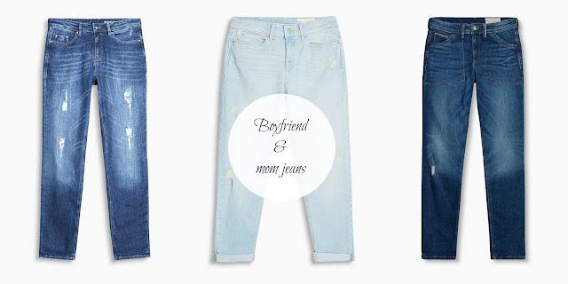 jeans morbidi e con cavallo basso