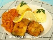Filety z kapra so zemiakovým pyré - recept