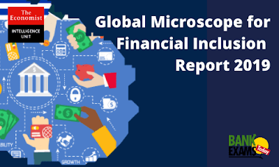 Global Microscope for Financial Inclusion Report 2019