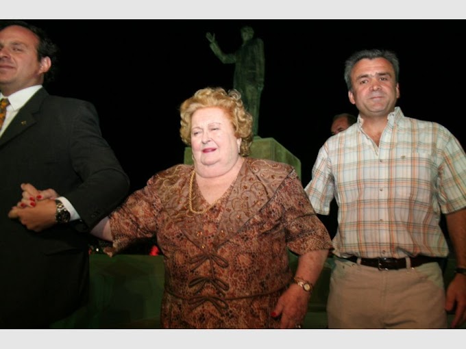 Dolor en el Partido Bloquista: falleció Ivelise Falcioni viuda de Bravo