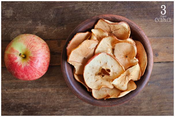 receita chips maçã