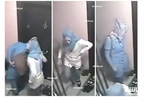 بالفيديو: كاميرا مراقبة تفضح 3 فتيات يقمن بشيء غريب على سلم عمارة!