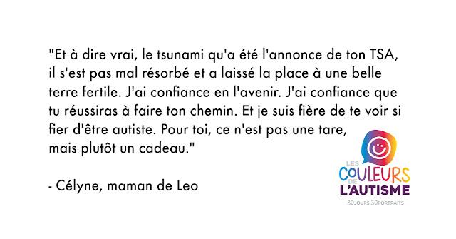 Autisme, la couleur de Leo #30couleurs