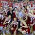Πρωταθλήτριες και 3ο διαδοχικό νταμπλ τα κορίτσια του Ολυμπιακού!