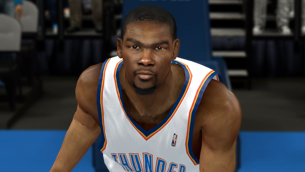 NBA2K Kevin Durant Cyberface Patch