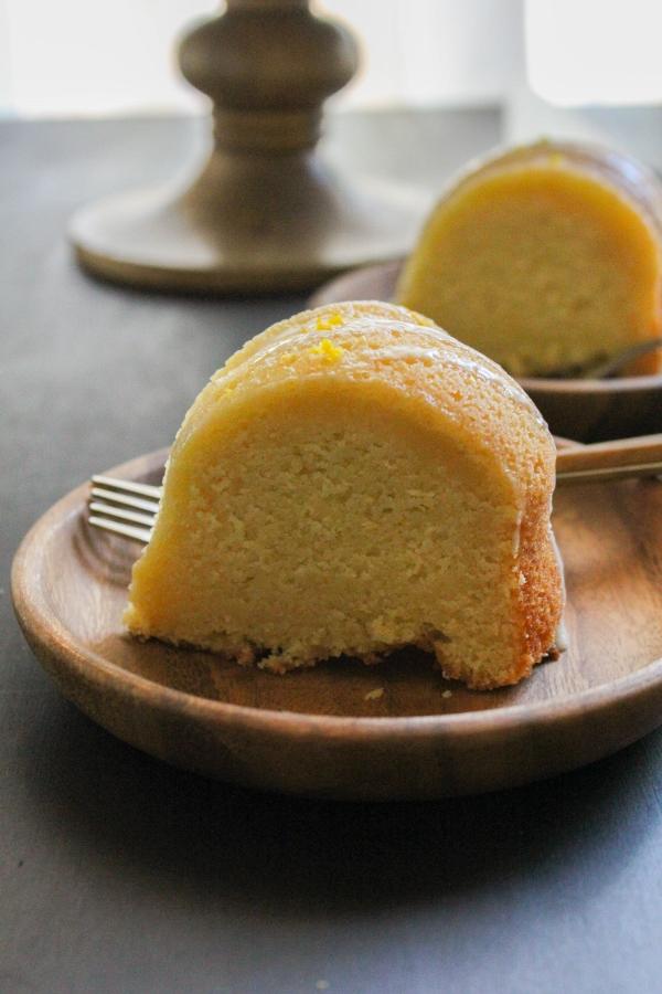 Simple Glazed Orange Bundt Cake | The Chef Next Door