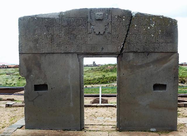 Puerta del Sol de Tiwanaco