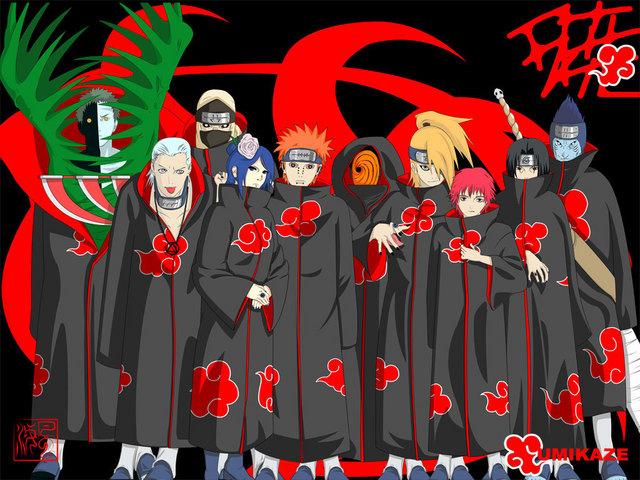 Kelompok Antagonis Terkeren #1 Akatsuki