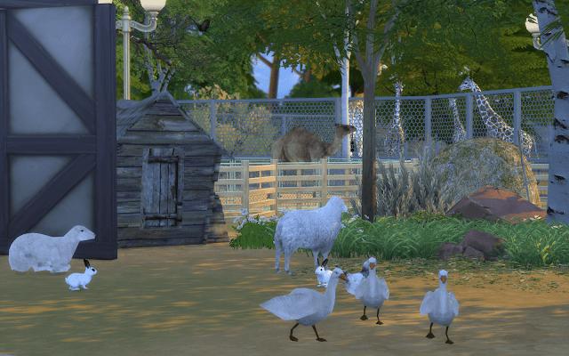 animaux de la ferme sims 4