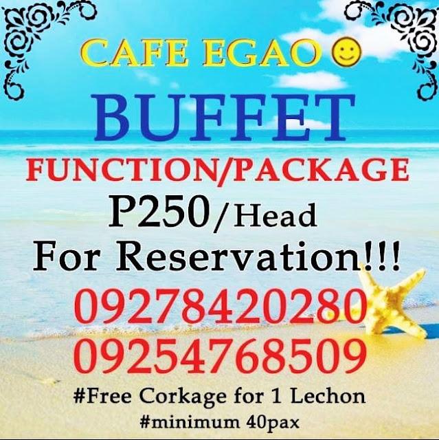 Eat All You Can Restaurant in Cebu Cafe Egao Talamban Cebu City