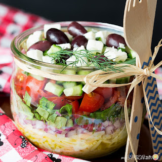 Orzo Greek Salad